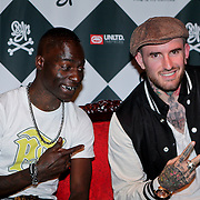 NLD/Amsterdam/20111007 - Presentatie Marc Ecko watches, Kleine Viezerik en Ben Saunders