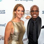 NLD/Hilversum/20190902 - Voetballer van het jaar gala 2019, Helene Hendriks en Jandino Asporaat