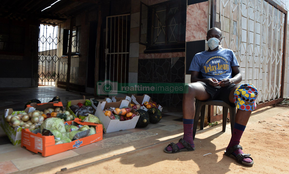 South Africa - Coronavirus - Pretoria - Street vendor Gift Thabang Madlisa (27) talks about how he was forced off the streets by the national lockdown regulations that left him unable to generate an income.<br /> Picture: Oupa Mokoena/African News Agency (ANA)