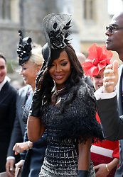 The wedding of Princess Eugenie to Jack Brooksbank at Windsor Castle. 12 Oct 2018 Pictured: Naomi Campbell. Photo credit: WPA POOL/Mega TheMegaAgency.com +1 888 505 6342