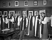 1954 - Consecration of new Bishop of Killaloe at Christchurch Cathedral, Dublin