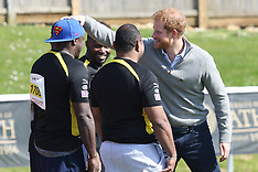 Bath: Prince Harry at Invictus Trials - 7 April 2017