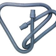 Flexible tube against white