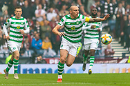 Celtic Captain Scott Brown during the William Hill Scottish Cup Final match between Heart of Midlothian and Celtic at Hampden Park, Glasgow, United Kingdom on 25 May 2019.