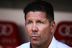 August 1, 2017 - Munich, Germany - Atletico de Madrid coach Diego Pablo Simeone durign the first Audi Cup football match between Atletico Madrid and SSC Napoli in the stadium in Munich, southern Germany, on August 1, 2017. (Credit Image: © Matteo Ciambelli/NurPhoto via ZUMA Press)