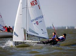 08_001287 © Sander van der Borch. Medemblik - The Netherlands,  May 21th 2008 . First day of the Delta Lloyd Regatta 2008.