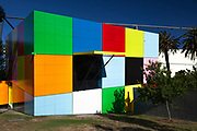 Sunken Cube #3 - Children's Museum by by Denton Corker Marshall architects at Melbourne Museum, Melbourne, Victoria, Australia