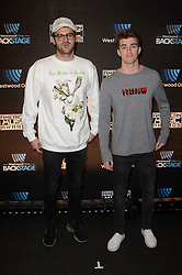 Westwood One Backstage at the American Music Awards Day 2 at the L.A. Live Event Deck. 19 Nov 2016 Pictured: The Chainsmokers. Photo credit: David Edwards / MEGA TheMegaAgency.com +1 888 505 6342