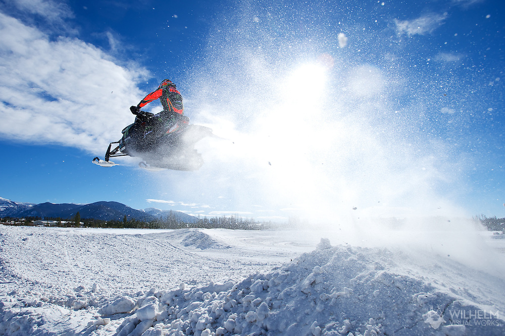 17 JAN 2014: Tucker Hibbert practices at a private facility in Grand Lake, CO. ©Brett Wilhelm