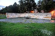Duitsland, Potsdam, 23-7-2012Stadsbeelden van deze stad vlakbij Berlijn. Lag tot 1989 in de DDR, en was in 1945 de plek van de conferentie met Truman, Churchill en Stalin. Monument ter herdenking van de 2e wereldoorlog en tegen het fascisme.Foto: Flip Franssen/Hollandse Hoogte