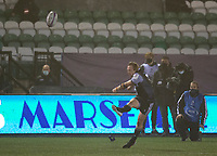 Rugby Union - 2020 / 2021 ERRC Challenge Cup - Newcastle Falcons vs Cardiff Blues - Kingston Park<br /> <br /> Joel Hodgson of Newcastle Falcons converts a conversion to make it 17-13 to Newcastle Falcons<br /> <br /> COLORSPORT/BRUCE WHITE