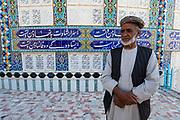 Former mudjahedeen in the Jihad museum, Herat, Afghanistan