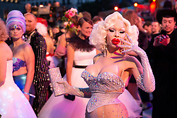 08.06.2019, Rathaus, Wien, AUT, Life Ball, im Bild Amanda Lepore // during the Life Ball at the Rathaus in Wien, Austria on 2019/06/08. EXPA Pictures © 2019, PhotoCredit: EXPA/ Florian Schroetter