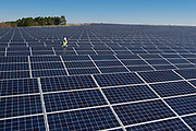 Large Solar Field in Georgia