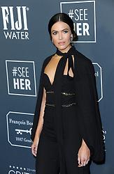 Mandy Moore at the 25th Annual Critics' Choice Awards held at the Barker Hangar in Santa Monica, USA on January 12, 2020.