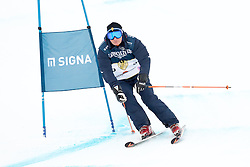 21.01.2017, Hahnenkamm, Kitzbühel, AUT, FIS Weltcup Ski Alpin, KitzCharity Trophy, im Bild Hias Leitner (KitzLegendenTeam) // during the KitzCharity Trophy of FIS Ski Alpine World Cup at the Hahnenkamm in Kitzbühel, Austria on 2017/01/21. EXPA Pictures © 2017, PhotoCredit: EXPA/ Serbastian Pucher