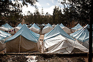An overview of the Yayladagi refugee camp for Syrians in southern Turkey. 12/21/2012 Bradley Secker for the Washington Post