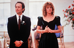 1989; When Harry Met Sally.  . Original Film Title: When Harry Met Sally.  , PICTURED: BILLY CRYSTAL, MEG RYAN, Director: Rob Reiner, IN CAST: Billy Crystal, Meg Ryan, Carrie Fisher, Bruno Kirby  (Credit Image: © CASTLE ROCK/Entertainment Pictures/ZUMAPRESS.com)
