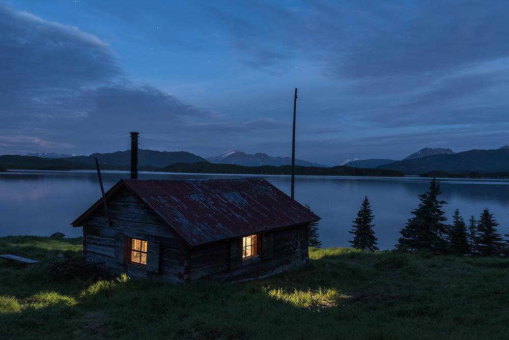 Fure's Cabin on the North Arm of Naknek Lake, Katmai National Park, Alaska