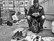 Paris in the poor and multi ethnic area