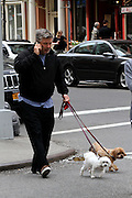 May 4, 2014 - New York City, NY, USA - <br /> <br /> Baldwin family sighting<br /> <br /> Actor Alec Baldwin went out for a walk with his wife Hilaria and his daughter Carmen in the East Village on May 4 2014 in New York City  <br /> ©Exclusivepix