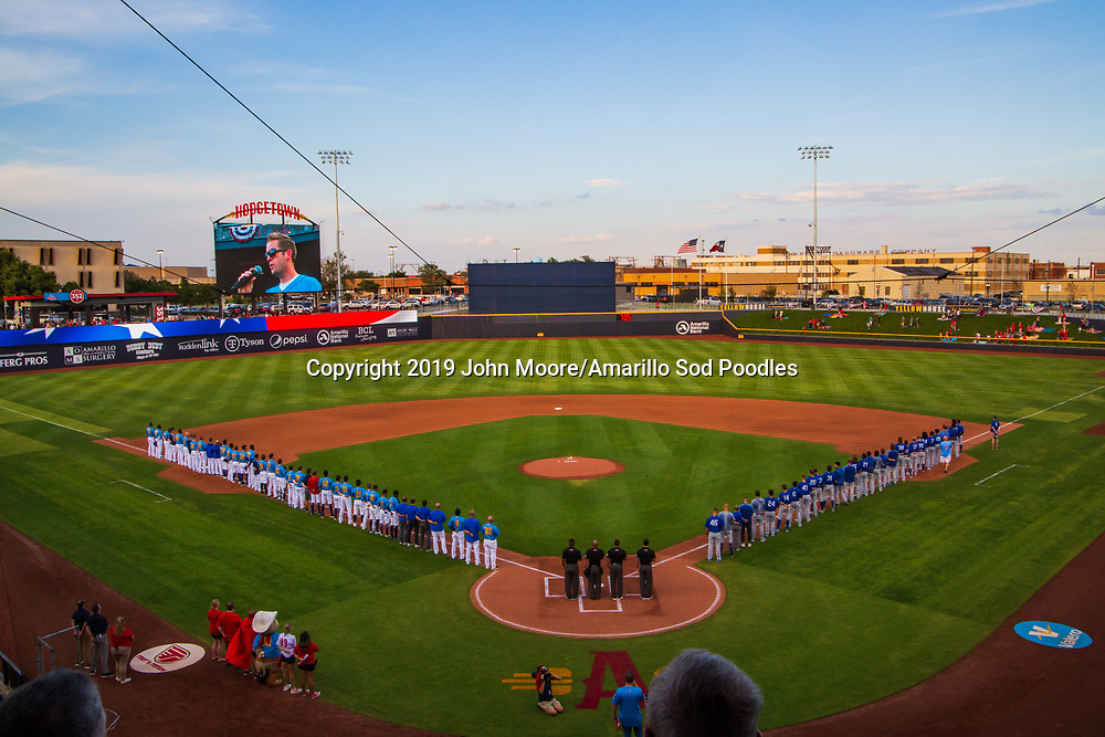 The Amarillo Sod Poodles played against the Tulsa Drillers during the Texas League Championship on Tuesday, September 10, 2019, at HODGETOWN in Amarillo, Texas. [Photo by John Moore/Amarillo Sod Poodles]