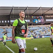 Malmö  2016 05 30 Swedbank stadion<br /> Practice game at Swedbank Stadion<br /> Sweden vs Slovenia<br /> John Guidetti<br /> <br /> <br /> <br /> <br /> ----<br /> FOTO : JOACHIM NYWALL KOD 0708840825_1<br /> COPYRIGHT JOACHIM NYWALL<br /> <br /> ***BETALBILD***<br /> Redovisas till <br /> NYWALL MEDIA AB<br /> Strandgatan 30<br /> 461 31 Trollhättan<br /> Prislista enl BLF , om inget annat avtalas.
