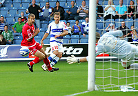 Photo: © Andrew Fosker / Richard Lane Photography - QPR's Akos Buzsaky curls in their second goal past keeper David Preece -  Queens Park Rangers v Barnsley - Coca-Cola Championship - 26/09/09 Loftus Road - London -  UK - All Rights Reserved