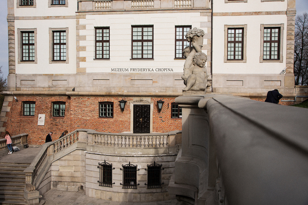 The Chopin Museum in Warsaw.