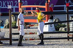 Wathelet Gregory, BEL, Guery Jerome, BEL<br /> Olympic Games Tokyo 2021<br /> © Hippo Foto - Dirk Caremans<br /> 04/08/2021