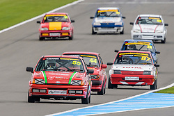 Action from Rounds 1 and 2 of the 750 Motor Club's Classic Stock Hatch Championship held at Donington Park in March 2017. Photo by Jonathan Elsey.