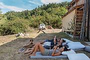 Italy, Tuscany, Lajatico