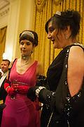 ROSIE BEATTIE; ALISON JOHNSTON, THE ST PETERSBURG BALL in aid of the Children's Burns Trust. Landmark Hotel. London. 2 February 2013