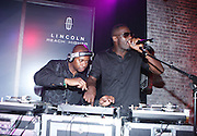 """Idris Elba at """" Lincoln After Dark """" sponsored by Lincoln Motors and hosted by Idris Elba and Steve Harvey and music by Biz Markie during the 2009 Essence Music Festival and held at The Contemporary Arts Center in New Orleans on July 4, 2009"""