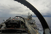 F/A-18 Landing on Carrier
