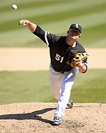 CHICAGO - APRIL 08:  Carson Fulmer #51 of the Chicago White Sox pitches against the Tampa Bay Rays on April 8, 2019 at Guaranteed Rate Field in Chicago, Illinois.  (Photo by Ron Vesely)  Subject:   Carson Fulmer