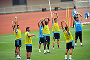 Aug 04, 2009, Beijing, China, The training session of Inter Milan for the coming Italian Super Cup against Lazio in the National Stadium, also known as the Bird's Nest on Aug 8.