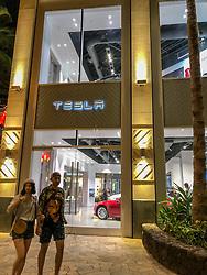 Tesla Showroom, Waikiki