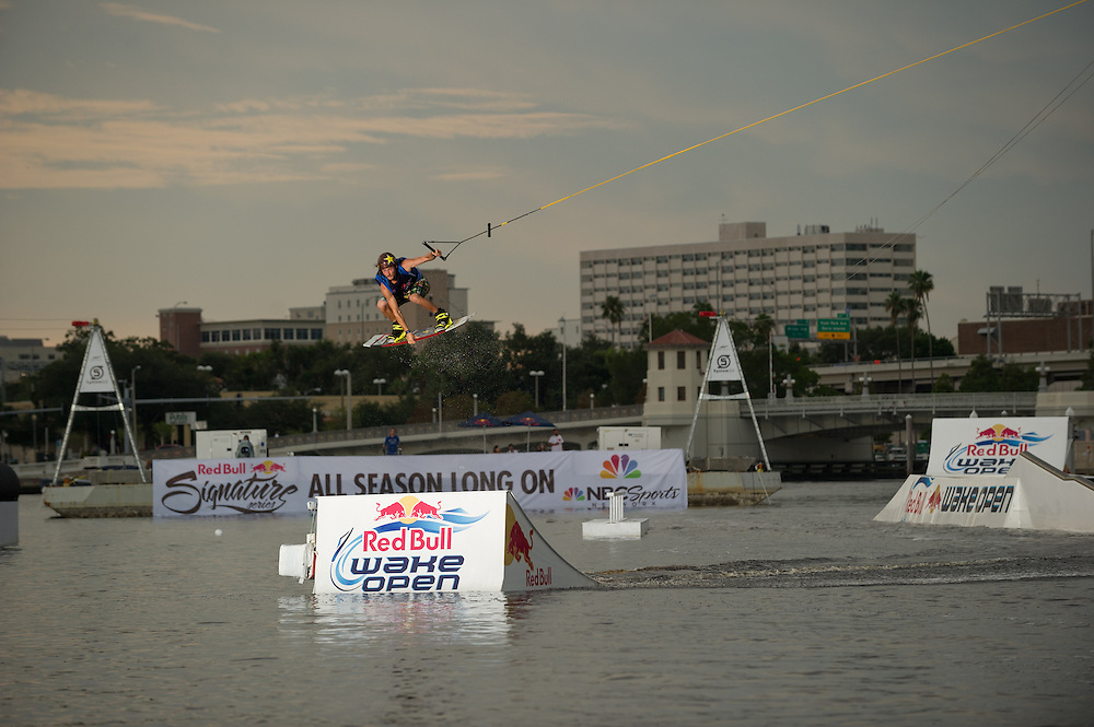Brenton Preistley performs  at RedBull Wake Open in Tampa, Florida on July 13th, 2012.