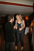 DIXIE CHASSAY AND TOM HOLLANDER, Sir Peter Blake and Poppy De Villeneuve host a party with University of the Arts London at the Arts Club, Dover Street, London. 20 APRIL 2006<br />ONE TIME USE ONLY - DO NOT ARCHIVE  © Copyright Photograph by Dafydd Jones 66 Stockwell Park Rd. London SW9 0DA Tel 020 7733 0108 www.dafjones.com