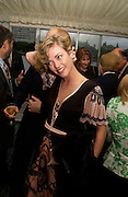 Camilla Rutherford, Conservative Party Chairmen's Summer reception, House of Commons Terace, 7 July 2004. SUPPLIED FOR ONE-TIME USE ONLY-DO NOT ARCHIVE. © Copyright Photograph by Dafydd Jones 66 Stockwell Park Rd. London SW9 0DA Tel 020 7733 0108 www.dafjones.com