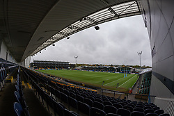 A view of the stadium ahead of the sides emerging to warm up - Mandatory by-line: Nick Browning/JMP - 24/10/2020 - RUGBY - Sixways Stadium - Worcester, England - Worcester Warriors Women v Wasps FC Ladies - Allianz Premier 15s