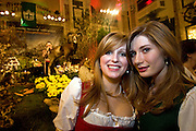 "Wien/Oesterreich, AUT, 28.01.2008: Zwei junge Teilnehmerinnen waehrend dem Jaegerball in der Wiener Hofburg.<br /> <br /> Vienna/Austria, AUT, 28.01.2008: Two young participants of the Hunters Ball (Jaegerball) at the ""Hofburg"" in Vienna."