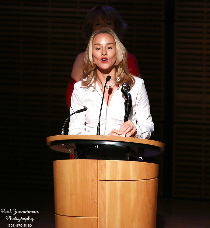NEW YORK, NY - OCTOBER 27:  Humanitarian Award winner, photographer Lisa Kristine attends the 11th Annual Lucie awards at Zankel Hall, Carnegie Hall on October 27, 2013 in New York City.  (Photo by Paul Zimmerman/WireImage)