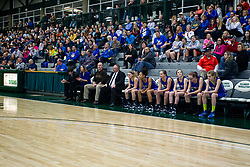 24 January 2015: 104th McLean County Tournament.  Tri-Valley v Tremont Girls Championship at Shirk Center, Bloomington Illinois