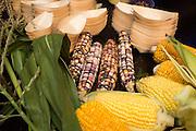 CORN (SWEET), Zea mays Showcase: 'Blue Eyed Blonde'<br />Breeder: Bill Tracy, University of Wisconsin Chef: Nora Antene, Tusk<br />Dish: Corn Silk Pie
