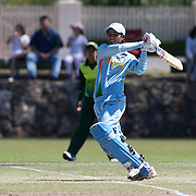 Indian opening batsman Anagha Deshpande  in action as India and Pakistan compete in the first match of group B of the ICC Women's World Cup Cricket  at the picturesque setting of Bradman Oval, Bowral in the New South Wales Southern Highlands, Australia on March 7, 2009. Pakistan were bowled out for 57 while Indian won the match reaching 58 without loss. Photo Tim Clayton
