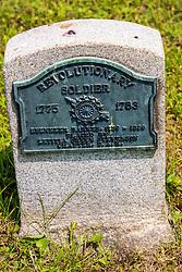 Ebenezer Barnes, Revolutionary War, 1759 - 1836.  Served 1775-1783 Stouts Grove Cemetery