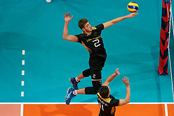 23-09-2019 NED: EC Volleyball 2019 Poland - Germany, Apeldoorn<br /> 1/4 final EC Volleyball Poland win 3-0 / Tobias Krick #2 of Germany
