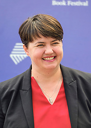 Edinburgh Book Festival, Tuesday, 13th August 2019<br /> <br /> Pictured: Scottish Conservative leader Ruth Davidson <br /> <br /> Alex Todd   Edinburgh Elite media